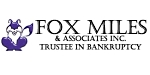 Fox-Miles & Associates Inc. Trustee in Bankruptcy